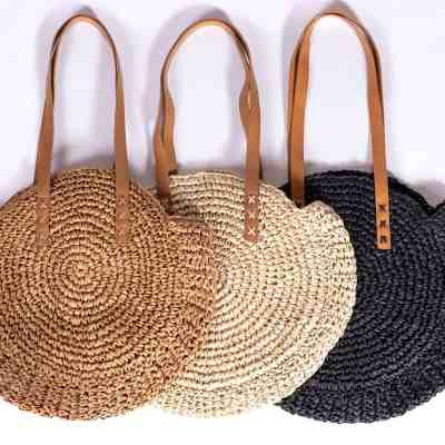 JANE: Rattan Tote Bag ONLY $24.99 + FREE Shipping (Regularly $50) – 3 Colors!