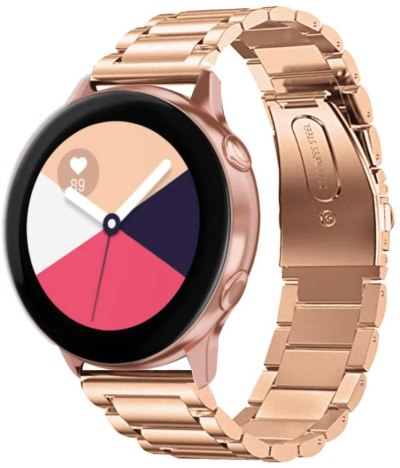 AMAZON: Rose Gold Galaxy Watch Band for $7.29 Shipped! (Reg.Price $14.59)