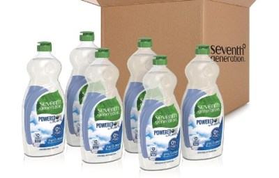 AMAZON: Seventh Generation Dish Liquid Soap, Free & Clear, 25 oz, Pack of 6 $13.66
