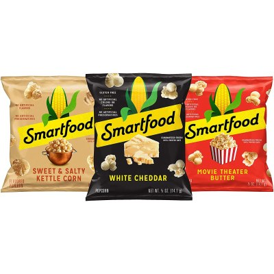 AMAZON: Smartfood Popcorn Variety Pack, 0.5 Ounce (Pack of 40), CHECKOUT VIA SUBSCRIBE & SAVE!