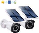 AMAZON: Solar Motion Sensor Light, 2 Pack, White for $29.99 Shipped! (Reg. Price $59.99)