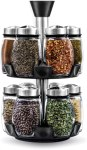 AMAZON: Spice Rack Organizer with 12 Glass Jar Bottles for $27.99 Shipped! (Reg. Price $49.99)