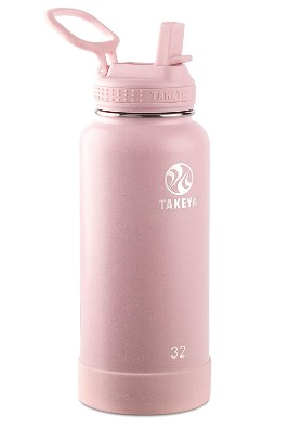 AMAZON: Takeya Actives Insulated Stainless Steel Water Bottle With Straw Lid Starting At $22.39