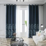 AMAZON: TINYSUN Reeds Flower Embroidered Faux Linen Textured Curtain for Bedroom, JUST $14.52 (REG $35.00)