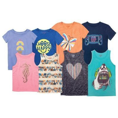Target: Select Cat & Jack Toddlers' And Kids' T-Shirts And Tanks Starting At $4.50