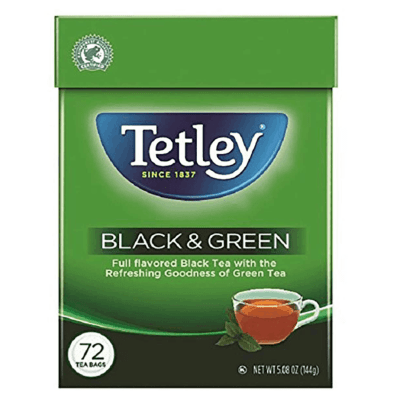 AMAZON: Tetley Tea Bags Black and Green 72-Count JUST $2.83 (Was $10.92)