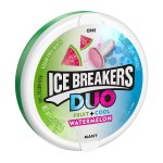 AMAZON: ICE BREAKERS Duo Sugar Free Mints, Watermelon, 1.3 Ounce (Flavors Available) $2.06