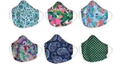 Vera Bradley: Cotton Face Masks for $8 Shipped (New Styles In Stock!)