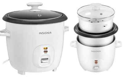 Insignia 2.6-Quart Rice Cooker ONLY $14.99 (Regularly $20) – Today Only!