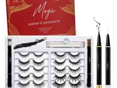 Amazon: 10 Pairs False Eyelashes and Eyeliner Kit, Just $7.19 after code!