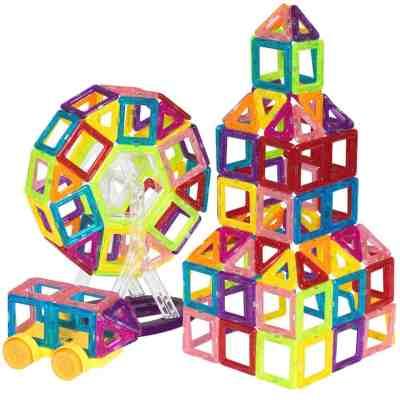 Walmart: 158-Piece Kids Mini Clear Magnetic Building Block, Just $39.99 (Reg $79.99)