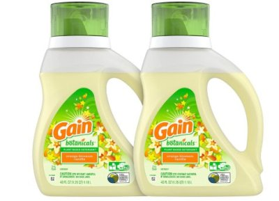 Amazon: 2 Pack Gain Botanicals Plant Based Laundry Detergent for $7.95 (Reg. Price $12.99)