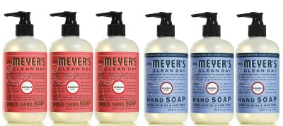 Amazon: 3-Pack of Mrs. Meyer's Hand Soap for just $11.97!