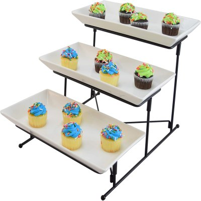 Amazon: 3 Tier Serving Tray Cake Stand for $19.54 Shipped! (Reg. Price $24.99)