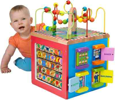 Amazon: ALEX Toys Discover My Busy Town Wooden Activity Cube Only $75.24 (Reg. $111)