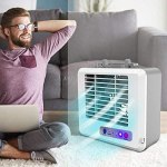 Amazon: Portable Mini Air Conditioner Handy Cooler Fan for Home Office, Just $36.9 ( Reg. Price $184.5)