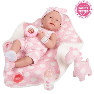 """Walmart: 15"""" Baby Doll in Pink and Deluxe Accessories For $36.85 (Reg. $69.99)"""