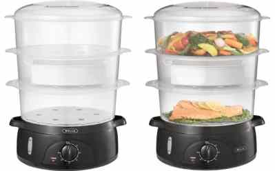 Best Buy: Bella 9.5-Quart Food Steamer ONLY $14.99 (Regularly $30)