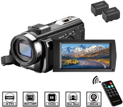Amazon: 65% OFF on Video Camera Camcorder with Remote Control