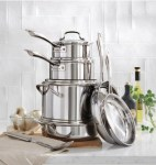Home Depot: Multiclad Triply 10-Piece Stainless Steel Cookware Set For $91.60 (Reg. $229.00)