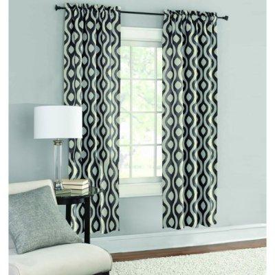 Walmart: Mainstays Room Darkening Window Curtain Panel Pair For $9.94 (Reg. $10.94)