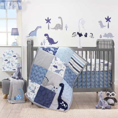 Walmart: ROAR Dinosaur 3-Piece Crib Bedding Set $48.93 (Reg. $67.77)