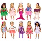 Amazon: 10 Sets Fashion Doll Clothes and Accessories $26.99 (Reg. $29.99)