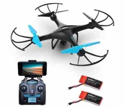 Woot: Force1 U45W Blue Jay Wi-Fi FPV Camera Drone For $42.99 (Reg $129.99)