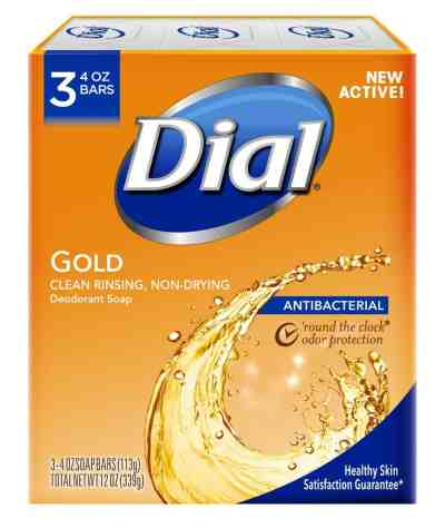 Amazon: Dial Antibacterial Deodorant Bar Soap, 4 Ounce, Just $1.61 (Reg. Price $6.99)