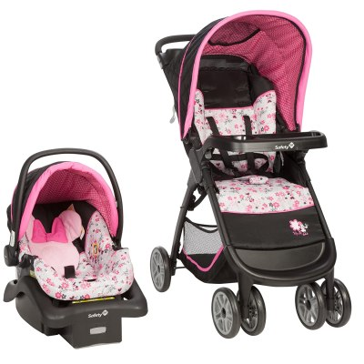 Amazon: Disney Baby Minnie Mouse Amble Quad Travel System Stroller, Just $149.99 (Reg. $199.99)
