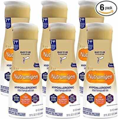Amazon: Enfamil Nutramigen Infant Formula, 32 fl oz, 6 Pack for $27.84 (Reg. Price $65.94)