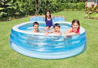 eBay: Inflatable Family Lounge Pool, 88in x 30in For $69.99 (Reg. $199.99)