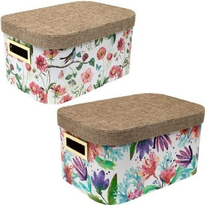 Michaels: Medium Blush Floral Box With Rounded Lid By Ashland® For $7.49 (Was $25)