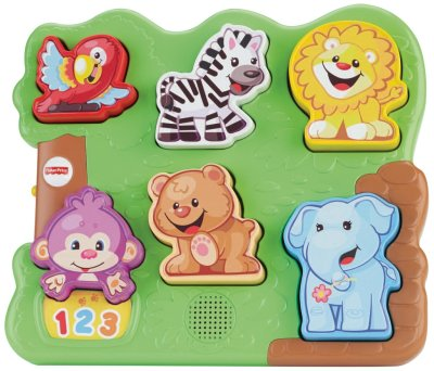 Amazon: Fisher-Price Laugh & Learn Zoo Animal Puzzle Only $9.97 (Reg. $30)