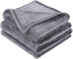 Amazon: Fleece Blanket Queen Size Grey Lightweight Super Soft Microfiber, Just $14.73 (Reg $29.99)