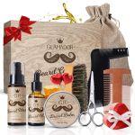Amazon: GLAMADOR Beard Grooming Gift Kit For $15.59