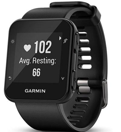 Amazon: Garmin Forerunner 35; Easy-to-Use GPS Running Watch, Black for $99.00 (Reg. Price $169.99)
