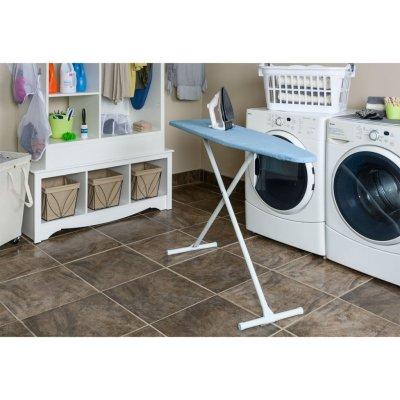 Walmart: Homz T-Leg Adjustable Steel Top Ironing Board, Solid Blue For $27.24