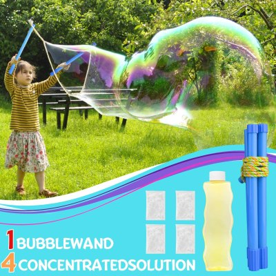 Amazon: JoinJoy Giant Bubble Wands Kit, 50% off after code!