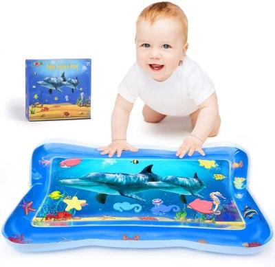 Amazon: Tummy Time Baby Water Mat $5.99 ($12)