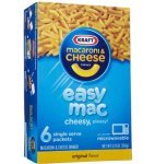 Amazon: Kraft Easy Mac, Original, 6 Single Serve Pouch for $1.58
