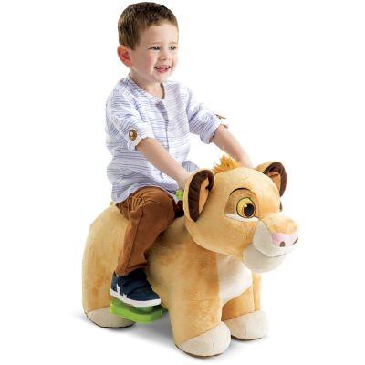 Walmart: Disney Lion King Simba 6V Plush Ride-On Toy For $44.00 ($79.00)