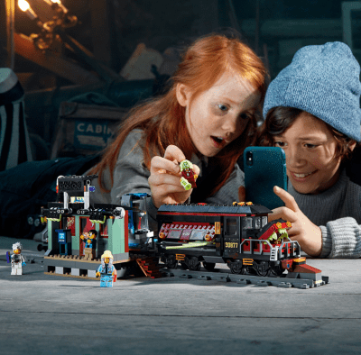 Walmart: Lego Hidden Side (AR) Ghost Train Express Only $54 + Free Shipping (Regularly $80)