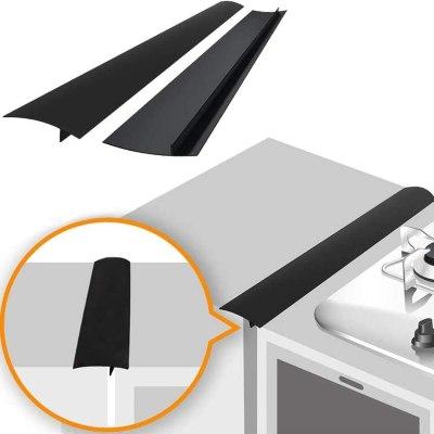 Amazon: 2pcs Kitchen Silicone Stove Counter Gap Cover For $10.89 (Orig. Price $36.60)