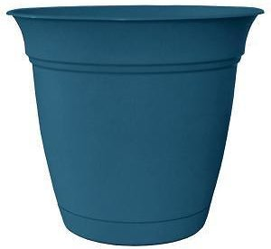 Home Depot: Belle Plastic Planter W/ Attached Saucer (4 Colors) $1.98 + Store Pickup!