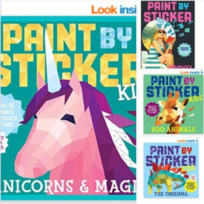 Amazon: Paint by Stickers Item, Cheap!!