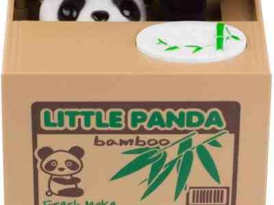 Amazon: Panda Saving Coin Bank, Just $11.99!