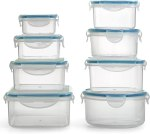 Amazon: Plastic Food Containers with Lids - 16 Piece, Just $14.99 after clip coupon!