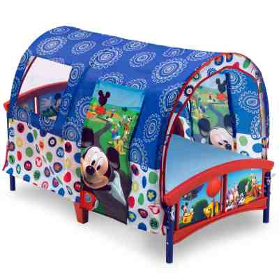 Walmart: Delta Children Disney Mickey Mouse Plastic Toddler Canopy Bed, Just $79.99
