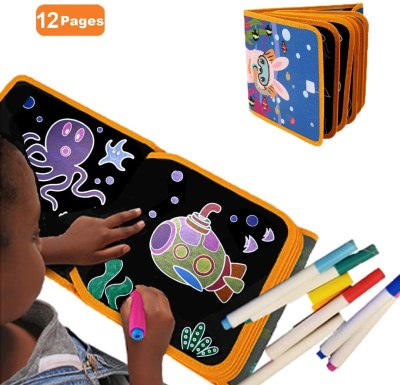 Amazon: Portable Erasable Doodle Book, Just $8.92 (Reg $18.99)